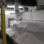 fresatura delle parti con metodo CNC.