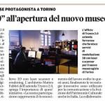 Copie di opere del Museo Egizio di Torino per la riapertura del 1 Aprile 2015