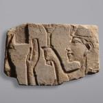 Talatat con sovrana amarniana