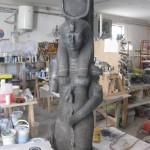 Resa al vero della Dea Hathor