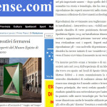 Articolo di Estense.com sulla collaborazione di TryeCo 2.0 alla riapertura del Museo Egizio di Torino il 1 Aprile 2015