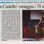 Il Resto del Carlino del 5/09/2016 - La Moda in Castello - CNA in festa