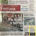 il Resto del Carlino 1a pagina - 28 Luglio 2019