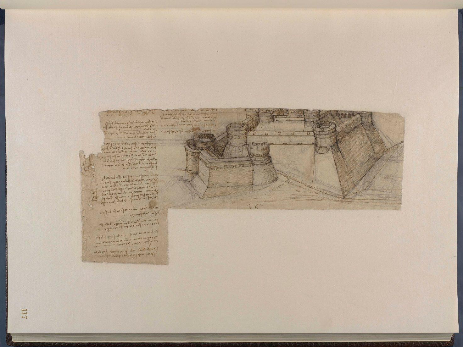 disegno codice atlantico