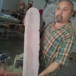 steli fresate in materiale plastico