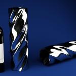 Bottiglia bruni con contenitore a lato