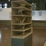 Abitazione Privata, New York, USA (2000/04). Modello in scala 1:50. La realizzazione di un modello cosi articolato con altri sistemi avrebbe comportato l'assemblaggio di un elevato numero di pezzi.