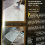 Servizio su 3D Printing Creative di Maggio 2015 per la partecipazione alla riapertura del Museo Egizio di Torino