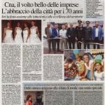 Il Resto del Carlino del 4/09/2016 - La Moda in Castello - CNA in festa
