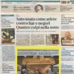 La Nuova Ferrara 1a pagina - 23 Luglio 2019